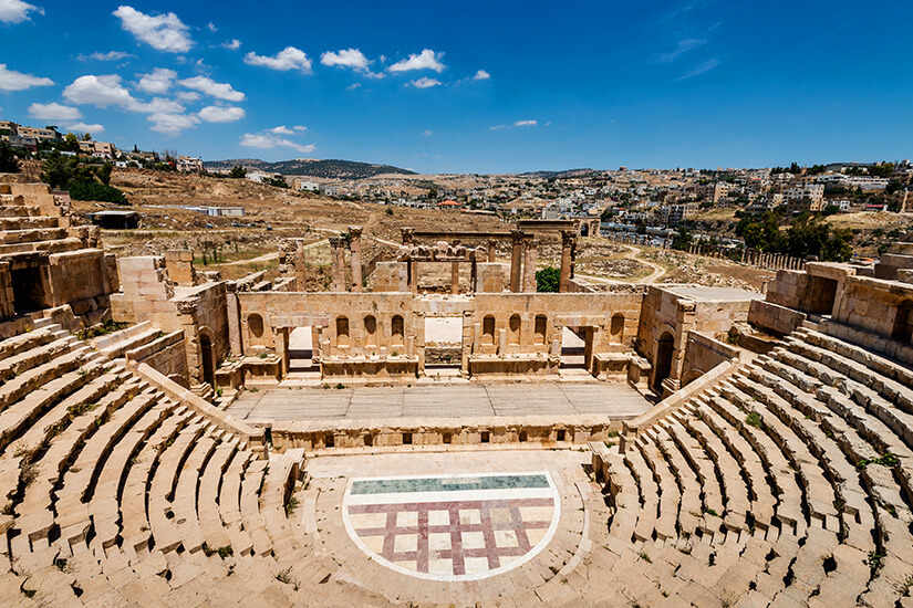 Amphitheater in Jerash