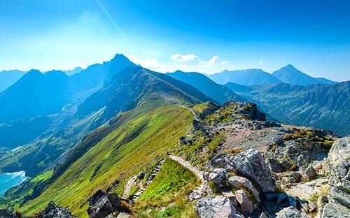 Hohe Tatra zum Wandern & Bergsteigen