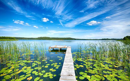 3000 Seen zum Erholen in den Masuren