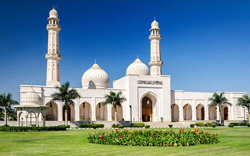 Große Sultan-Qaboos-Moschee in Maskat