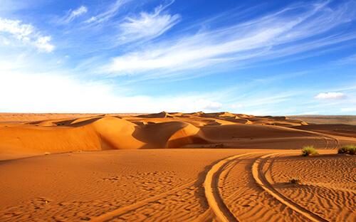 Wüstentour Mit Jeep durch Wahiba Sands