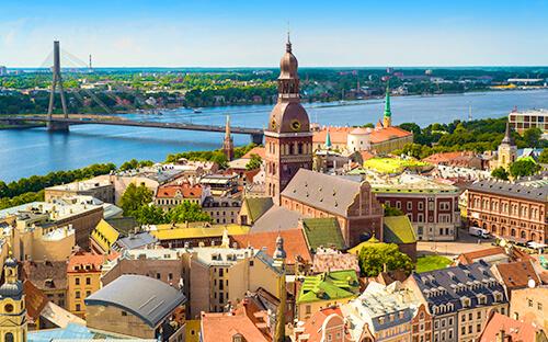 Weltkulturerbe-Stadt Riga besichtigen