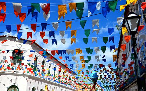 Mittsommer-Stadtfest São João do Porto