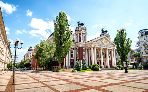 Oper-, Balett- & Theater-Hochburg Sofia