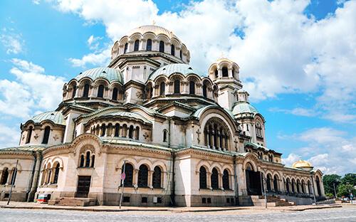 Wahrzeichen Alexander-Newski-Kathedrale