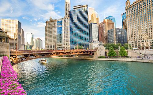 Bootstour auf dem Chicago River