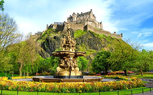 Edinburgh Castle Besichtigen & staunen