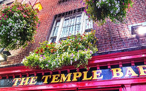 Pub-Tour im Temple Bar Kneipenviertel