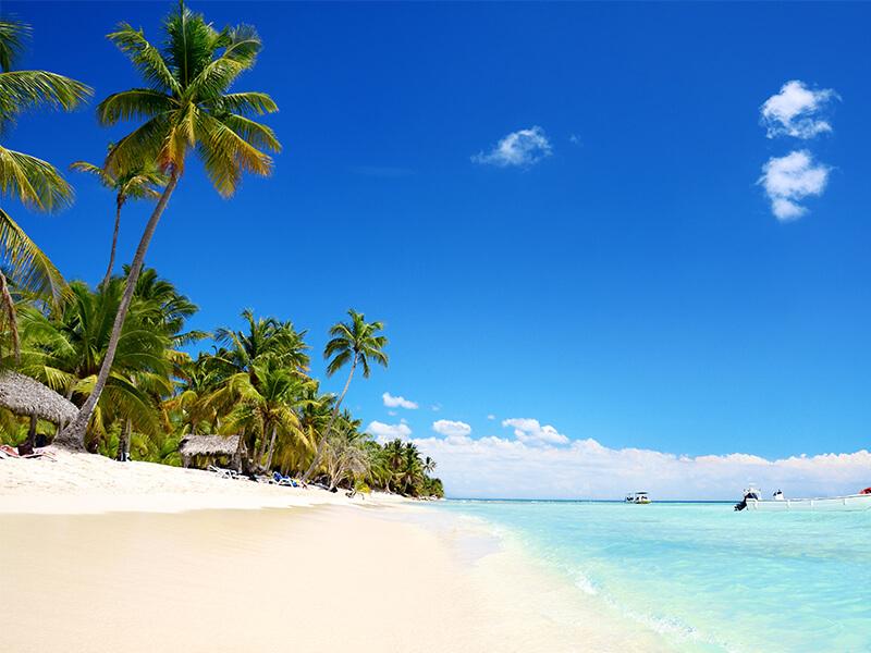 Traumstrand in der Karibik