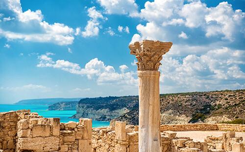 Antikes in Ausgrabungen von Kourion