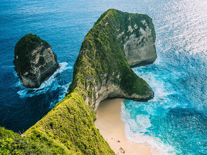 Kelingking Beach auf Bali