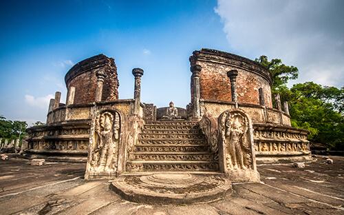 Kultur in Polonnaruwa, Sigiriya, Dambulla