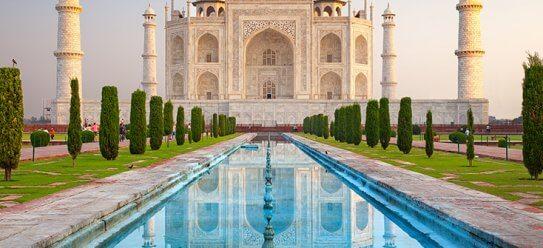 Taj Mahal: Die Schönheit in Agra