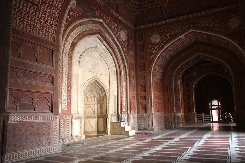 Moschee im Taj Mahal