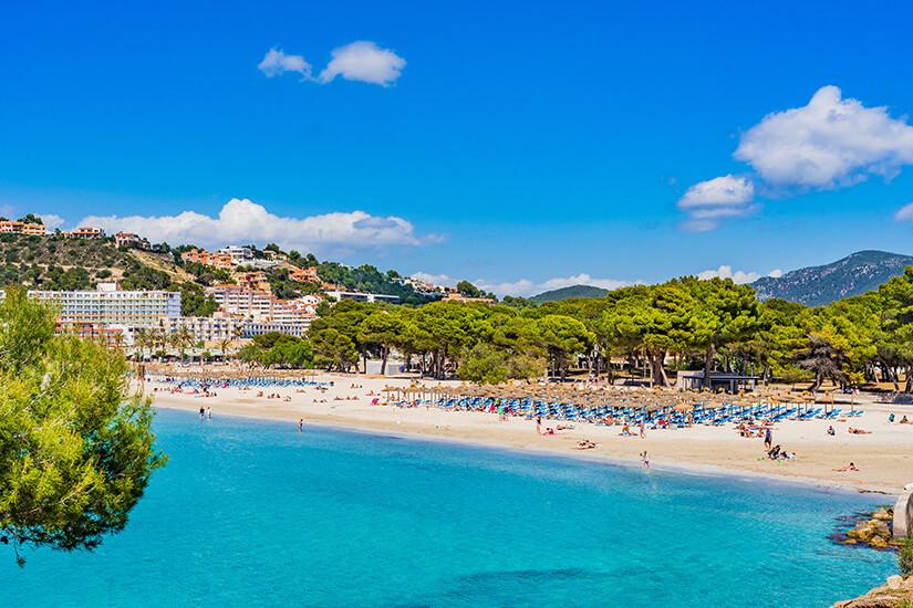 Strand von Santa Ponsa
