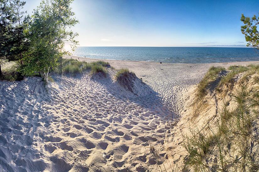 Ostsee-Dünen im Slowinzischen Nationalpark