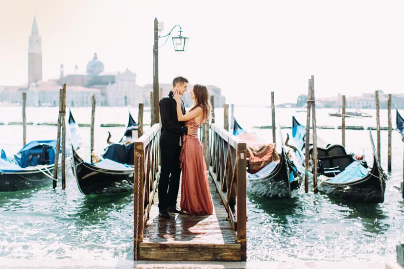 Als Paar unterwegs in Venedig