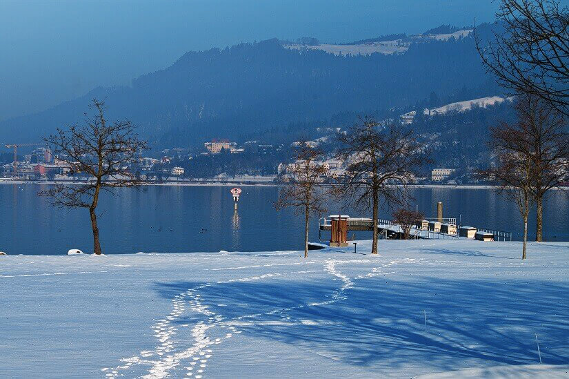 Bodensee zur Winterzeit