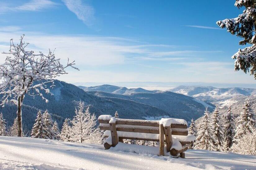 Winterstimmung im Schwarzwald