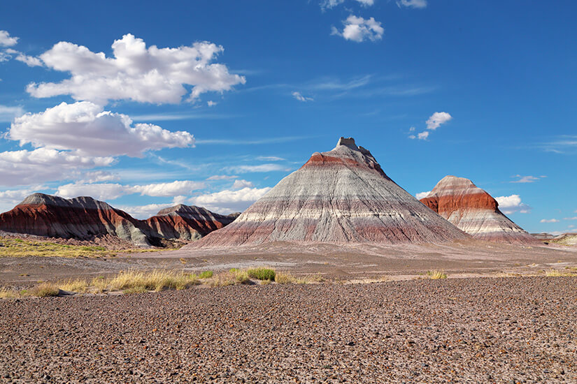 The Teepees im Petrified Forest Nationalpark