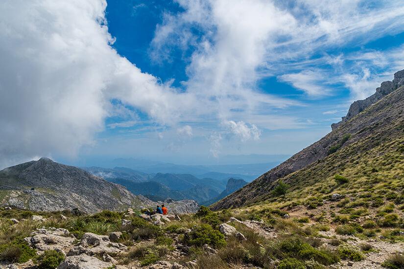 Unterwegs auf dem GR 221 im Tramuntana-Gebirge
