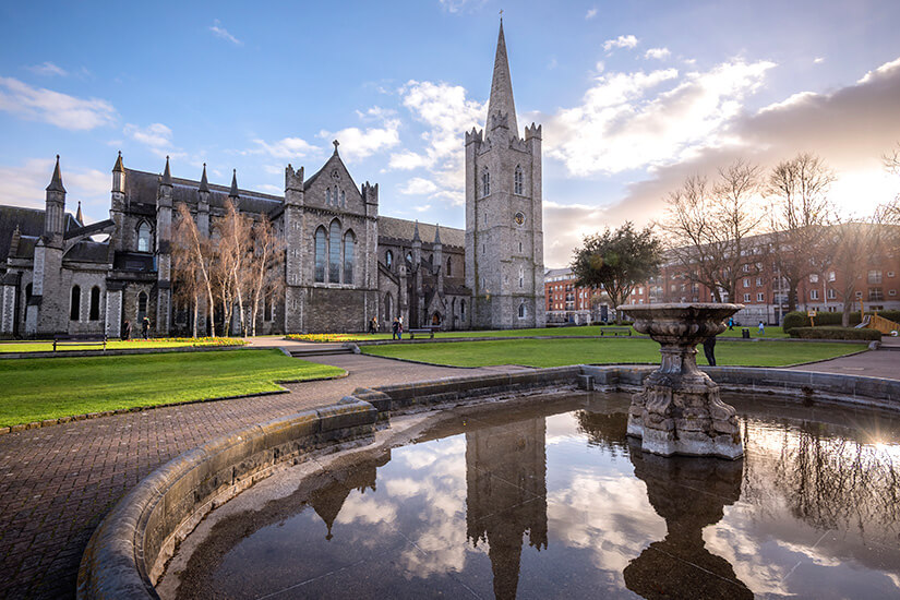 St. Patrick's Kathedrale in Dublin