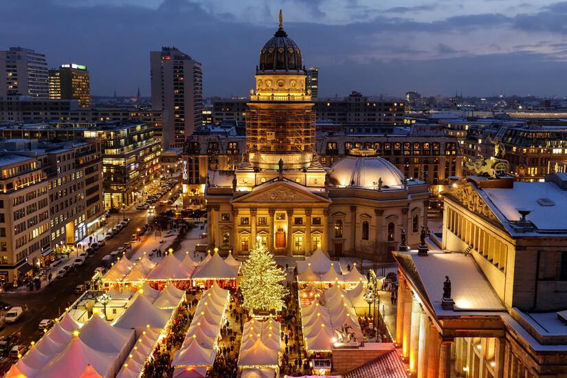 Weihnachten am Gendarmenmarkt in Berlin