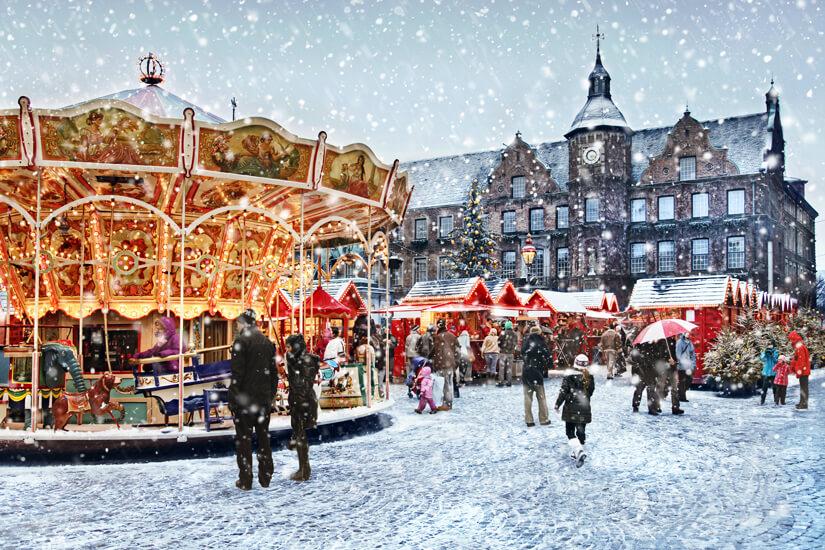 Weihnachtsmarkt in Düsseldorf