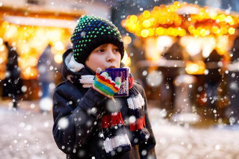 Kinderfreuden auf dem Weihnachtsmarkt