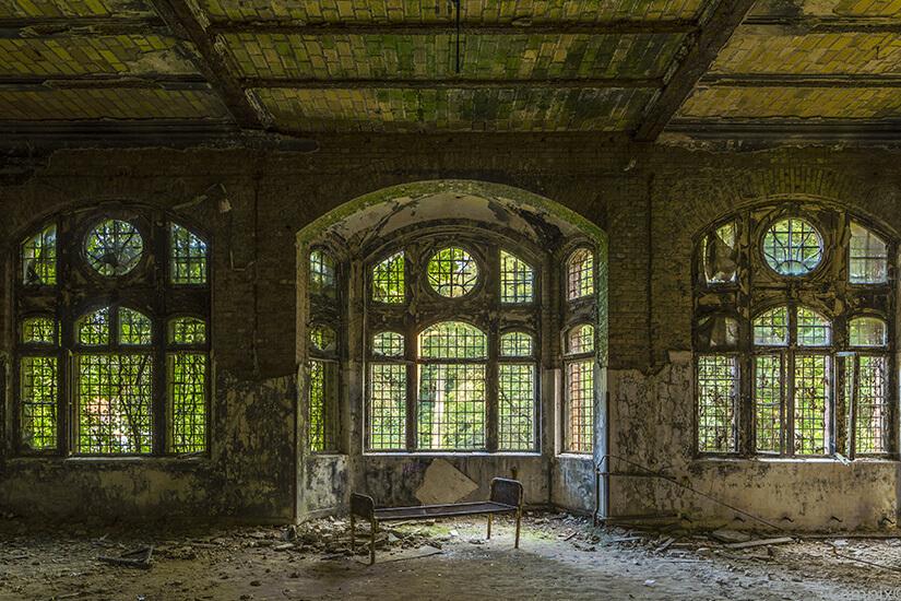 Beelitz-Heilstätten in der Nähe von Berlin