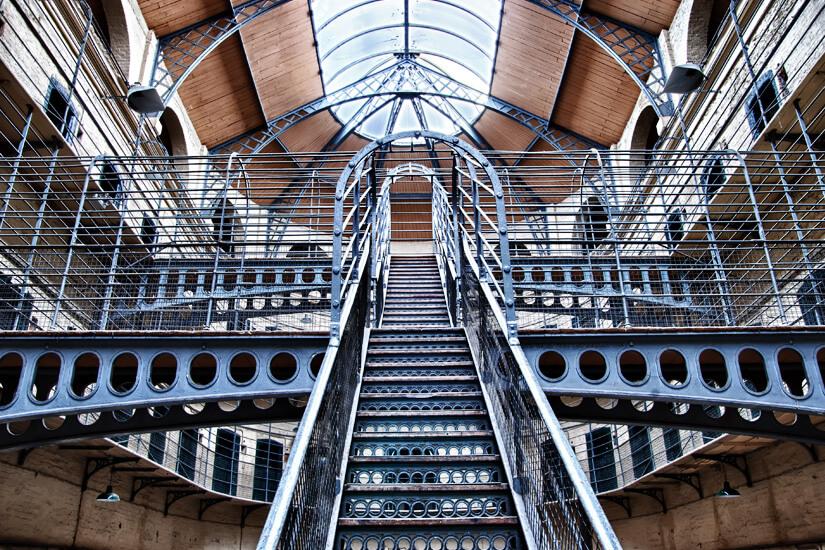 Einst ein Gefängnis_Kilmainham Gaol in Dublin