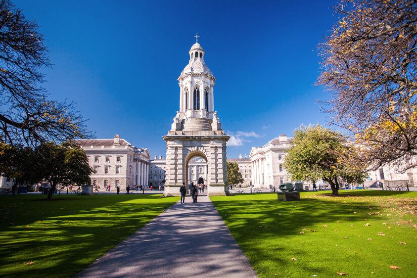 _Irlands bekannteste Universität, das Trinity College