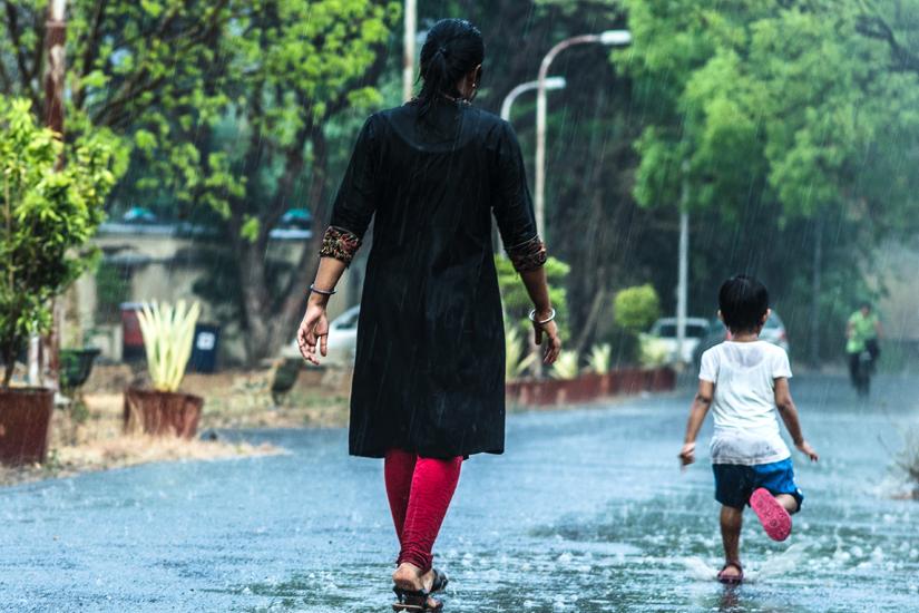 Für Menschen in Asien gehört der Monsun zum Leben dazu