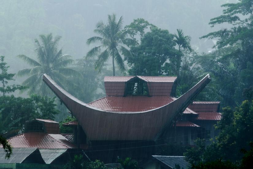 Der Monsun sorgt für eine starke Bewässerung