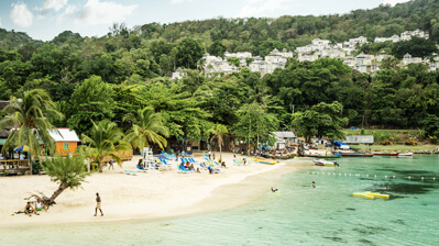 Strand in Ocho Rios