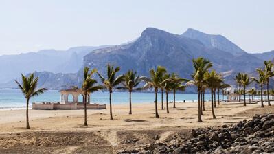 Strand im Süden von Oman