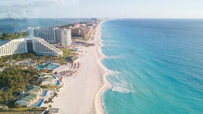 Die Strände von Cancun