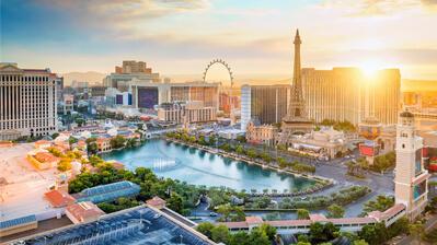 Glücksspielstadt Las Vegas