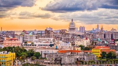 Blick auf Havanna vom Wasser aus