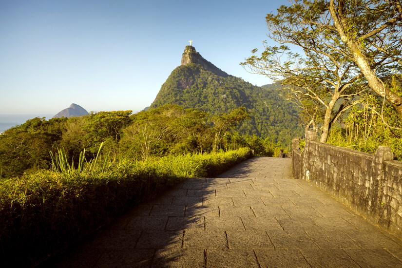 Tijuca Nationalpark mit Blick auf den Corcovado