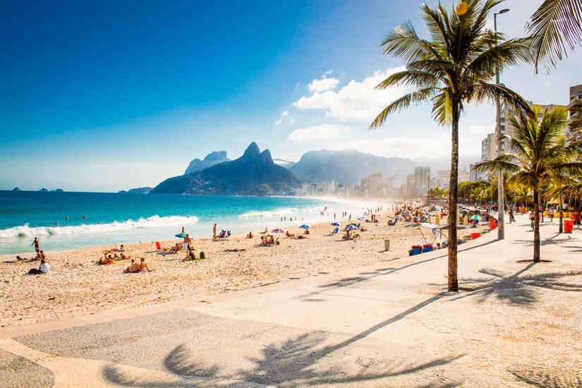 Strandleben in Rio de Janeiro