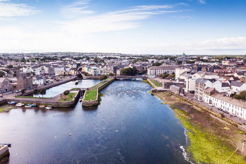 Galway von oben