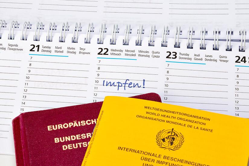 Termine für Reiseimpfungen rechtzeitig planen
