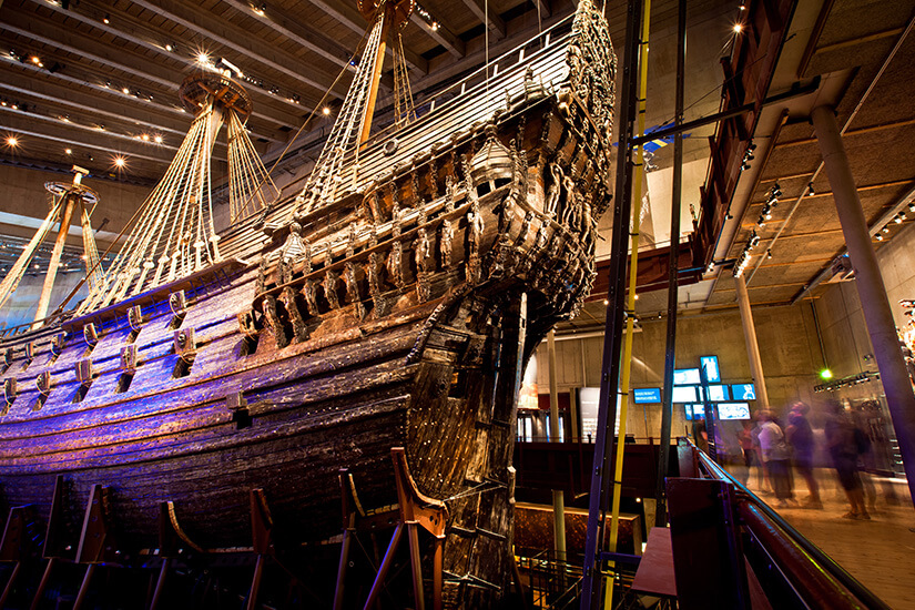 Vasa Schiff im Vasa Museum