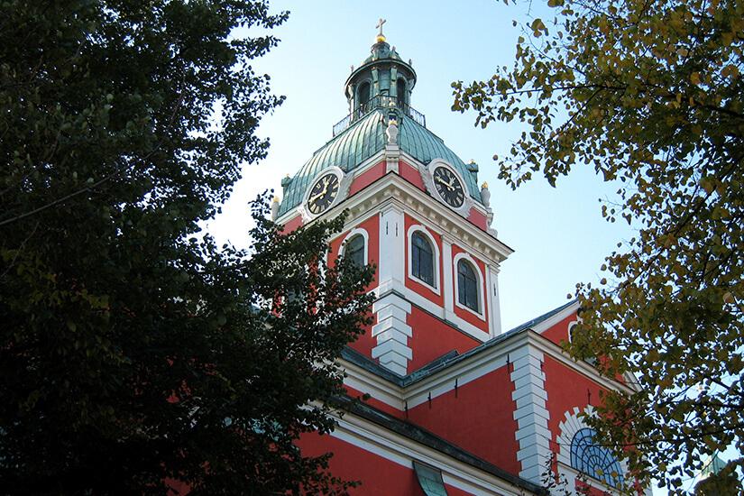 Kirche im Kungsträdgarden
