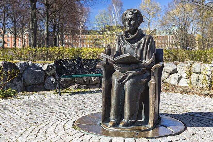 Denkmal der Kinderbuchautorin Astrid Lindgren