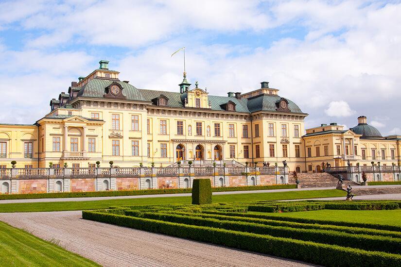 Schloss Drottningholm, Sitz der königlichen Familie