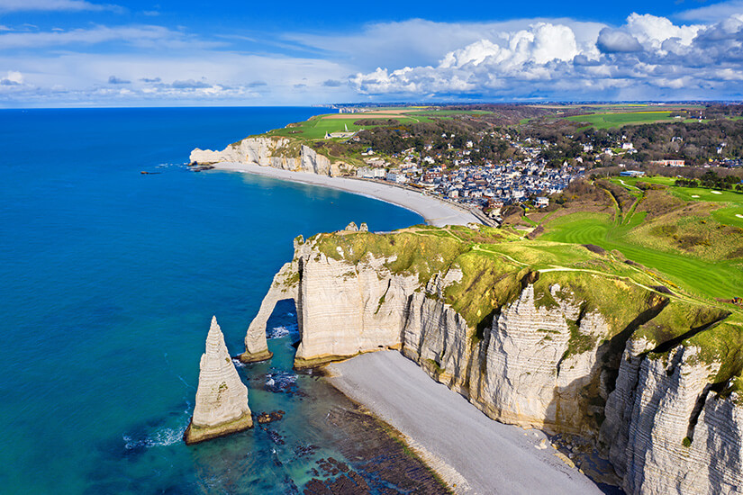 Alabasterküste in der Normandie