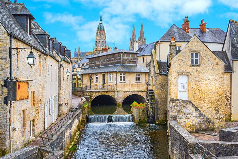 Historische Altstadt von Bayeux