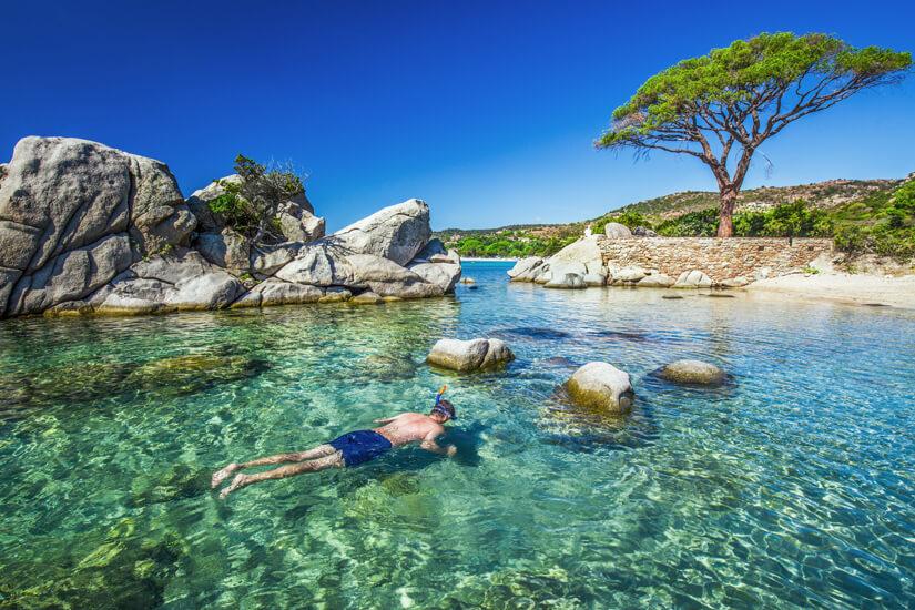 Schnorcheln vor Korsika